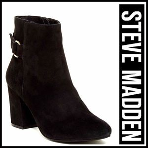 Steve Madden Shoes - ❗1-HOUR SALE❗STEVE MADDEN SUEDE BOOTS