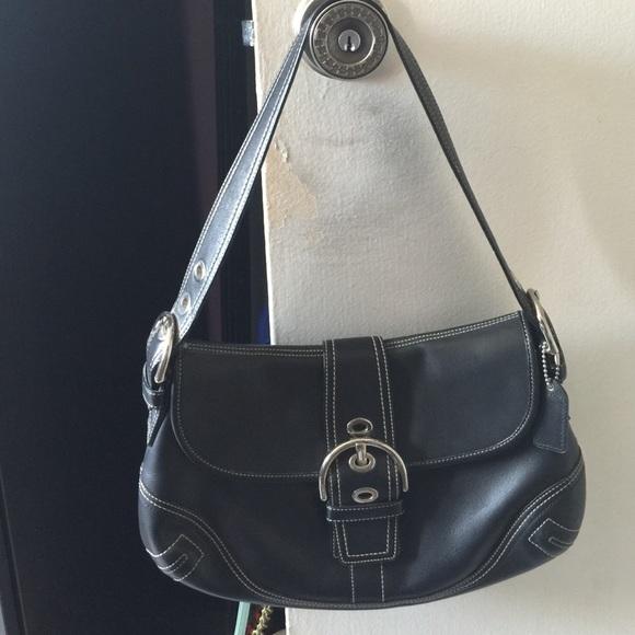 0d5de798c6 Coach Soho Black Leather shoulder bag