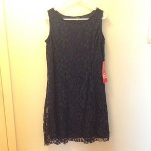 Dresses & Skirts - NEW Navy Blue Sleeveless Dress , size: L
