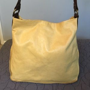 Ellington Handbags - Ellington Yellow Leather Hobo Bag