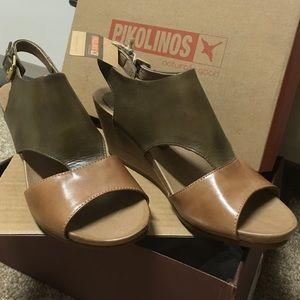 "Pikolinos Bali sandals ""Safari"" 40(EU) 9.5-10 (US)"