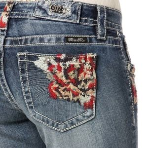 HOT 33!🌹Festival Ready Embroidered Miss Me Skinny