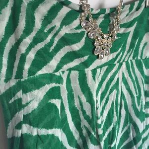 Diane von Furstenberg Tops - Vintage Diane Von Furstenberg Silk Green Blouse M