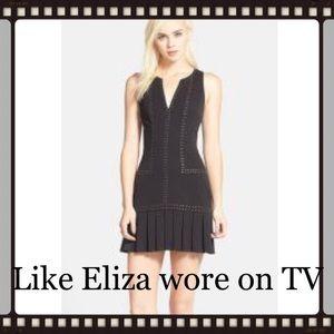 SALE PRICE Sam Edelman black studded dress
