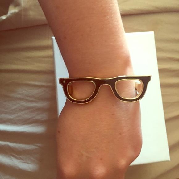 a267a8ba6e3 kate spade Jewelry - Kate Spade Lookout Glasses Bangle