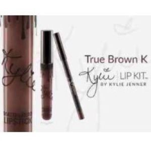 "Kylie Cosmetics Other - ❤️ NWT ""True Brown K"" Kylie Lip Kit"