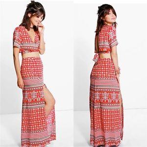 Asos Dresses & Skirts - Trendy Wrap Tie CO-ORD SET