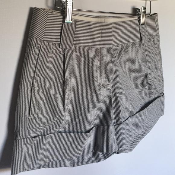 J. Crew Shorts - J.Crew city fit cotton chino blue white shorts 0