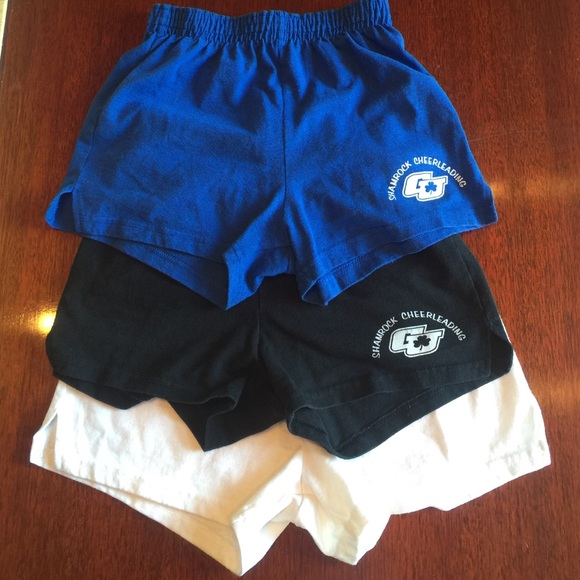 16a0109e5d722 Girls Soffe Cheer Shorts Bundle Size Youth L