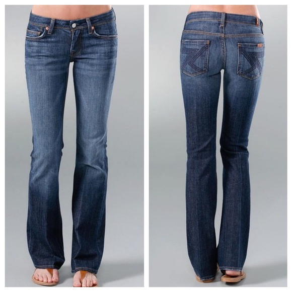 84% off 7 For All Mankind Denim - 7 For All Mankind Flynt Bootcut ...