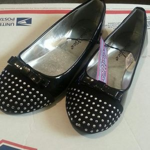 Other - Black Tie Bow Flats