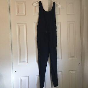 Super cool navy jumpsuit