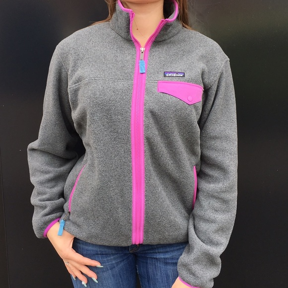 competitive price best loved exquisite style Patagonia Women's Full Zip Snap T Fleece Jacket. NWT