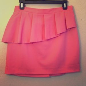 NWT ASOS Mini Skirt with Peplum