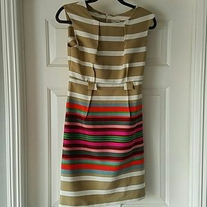 Dresses & Skirts - Striped dress with pops of color