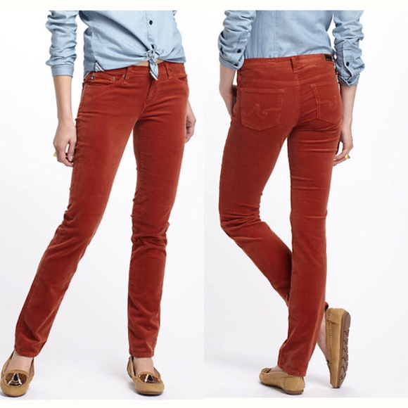 find lowest price sale retailer top-rated official • AG • Adriano Goldschmied Rust Corduroy Pants