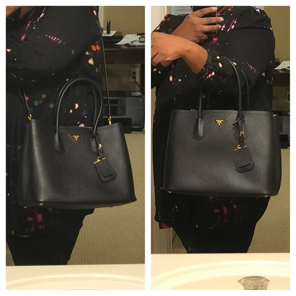 44746e2302e0 Prada Bags | Sold Auth Double Handle Tote | Poshmark