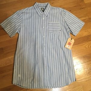 Element Other - NWT Element mens short sleeve button down