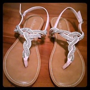 Kelly & Katie Shoes - Kelly & Katie Sparkly Sandals Size 6