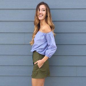 Dresses & Skirts - | new | green mini skirt