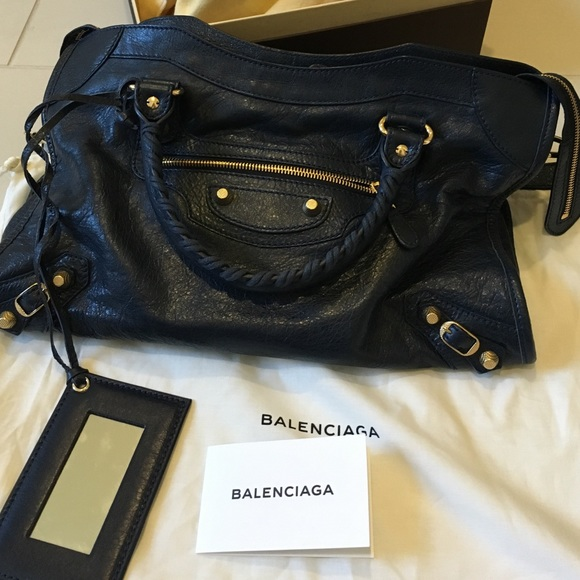 Balenciaga Giant 12 Gold City Bag