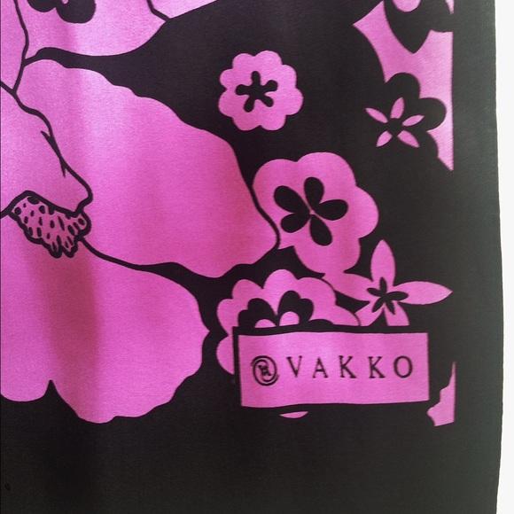 77 vakko accessories vakko silk scarf from f s