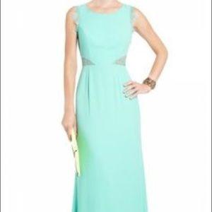 BCBG Maxazria Karey dress mint color