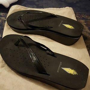 Volatile Shoes - Volatile Wedge Sandals Size 7