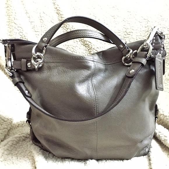 16b921de532 Coach Bags   Brooke Taupe Leather Hobo Shoulder Handbag   Poshmark