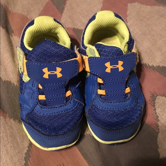 baby boy under armour shoes