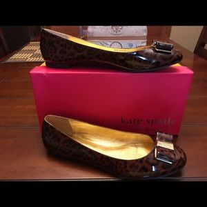 Kate Spade Patent Leather Flats, Size 9.5M