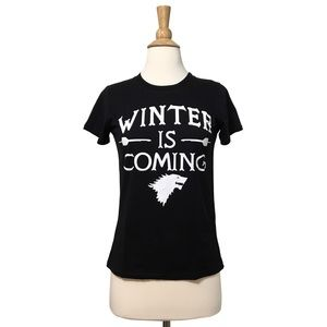 House Stark Winter is Coming Fitted Graphic Tee