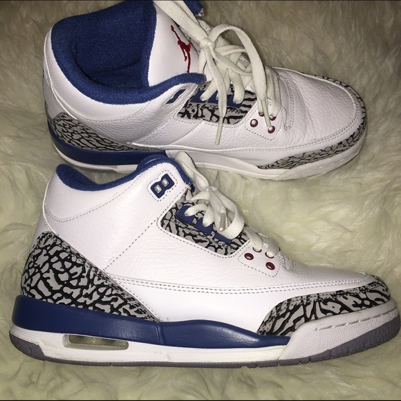Jordan Retro 3 True Blue size 5