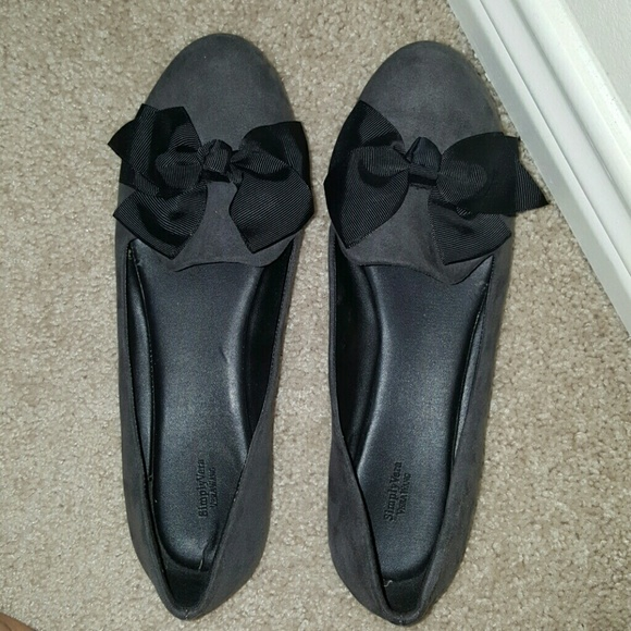outlet shop offer Vera Wang Leather Bow Flats pay with visa online cheap discount pictures cheap price 4rPU9LY