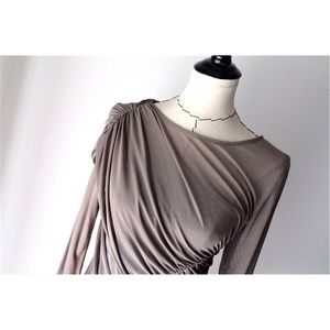 MM Couture Dresses & Skirts - MM Couture Neutral Mocha Dress