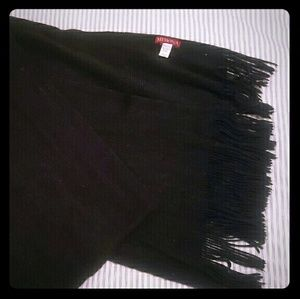 Merona Black Cashmere Scarf