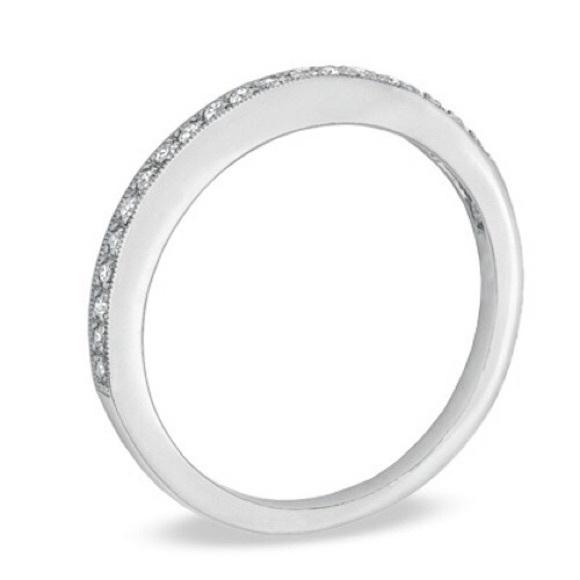 37% off Zales Jewelry New Zales 1 10 carat Diamond 14K White Gold Band from