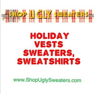 Ugly Sweaters, Vests, Turtlenecks, & Shirts Coming