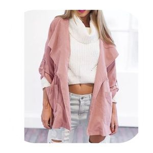 Jackets & Blazers - cotton wind coat
