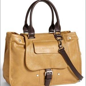 Longchamp Balzane Roots Embossed Leather Satchel