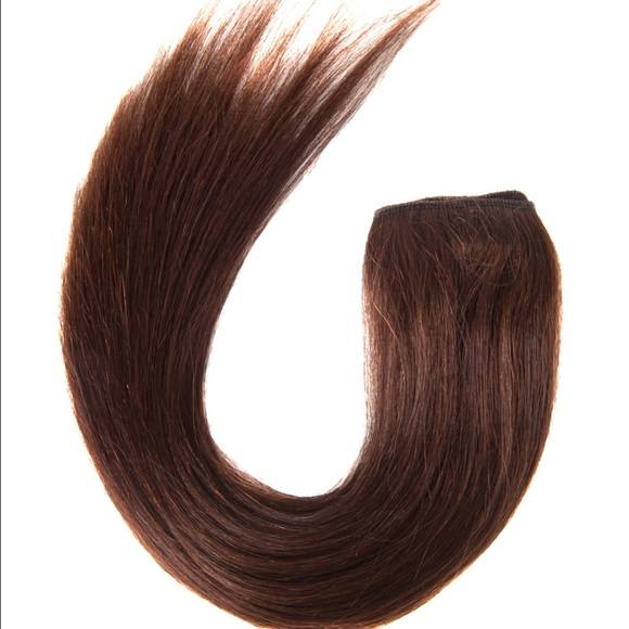 16 7 Piece Clip In Human Hair Extension Brown Poshmark