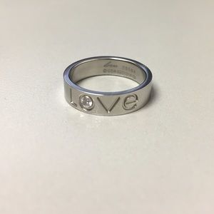 Jewelry - Stainless steel love ring