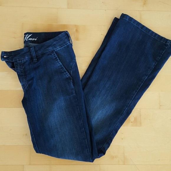 69 off mavi denim mavi alissa low rise trouser from. Black Bedroom Furniture Sets. Home Design Ideas