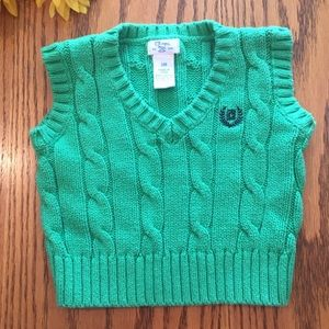 Chaps Other - Chaps Green Sweater Vest. 3 months