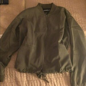 Jackets & Blazers - Target Who What Wear Olive Bomber size M