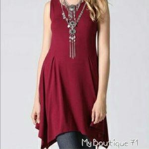 Tops - 🐞HP🐞Asymmetrical Hem Tunic/Dress