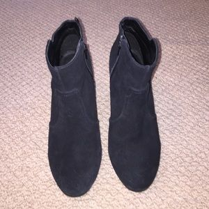 H&M Real Suede booties