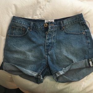 "One teaspoon ""chargers"" size 28 never worn"
