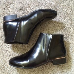 Black Zara Ankle Booties