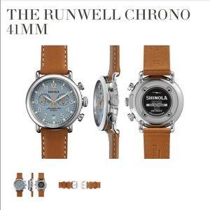 Shinola Other - Shinola Runwell Chrono 41mm